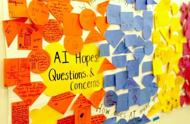 Learning about artificial intelligence: A hub of MIT resources for K-12 students