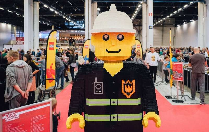 Lego aims to improve on the materials it uses rather than abandon plastic
