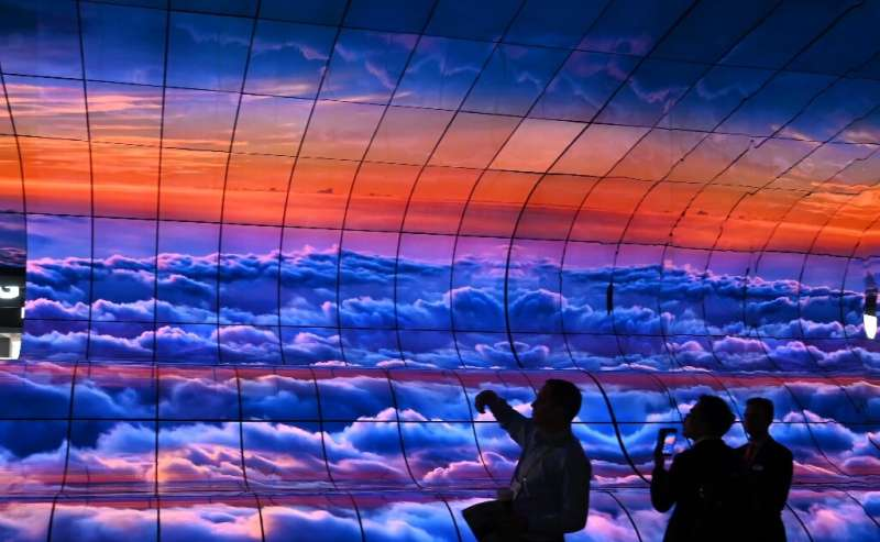 LG's curved OLED televisions were among the products shown at the 2019 Consumer Electronics Show; the 2020 show is expected to s
