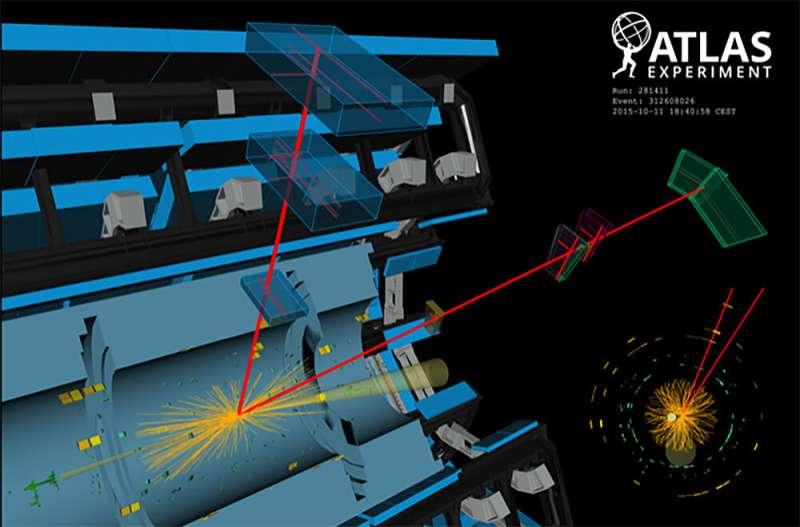LHC creates matter from light