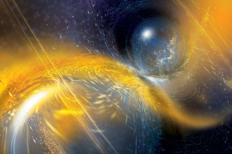 LIGO-Virgo gravitational wave network catches another neutron star collision