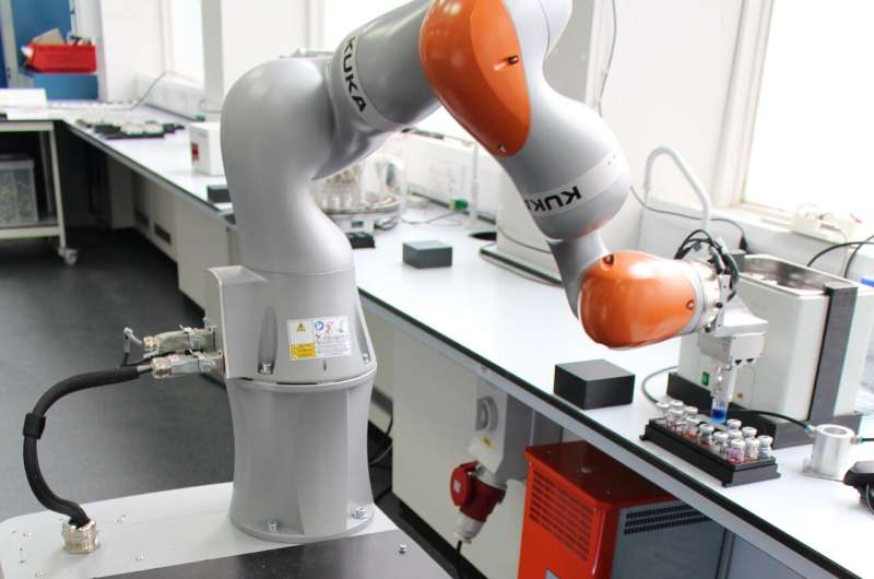 Liverpool researchers build robot scientist that has already discovered a new catalyst