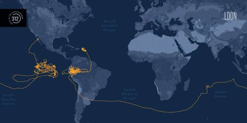 Loon balloon breaks record for stratospheric flight duration—stays aloft for 312 days