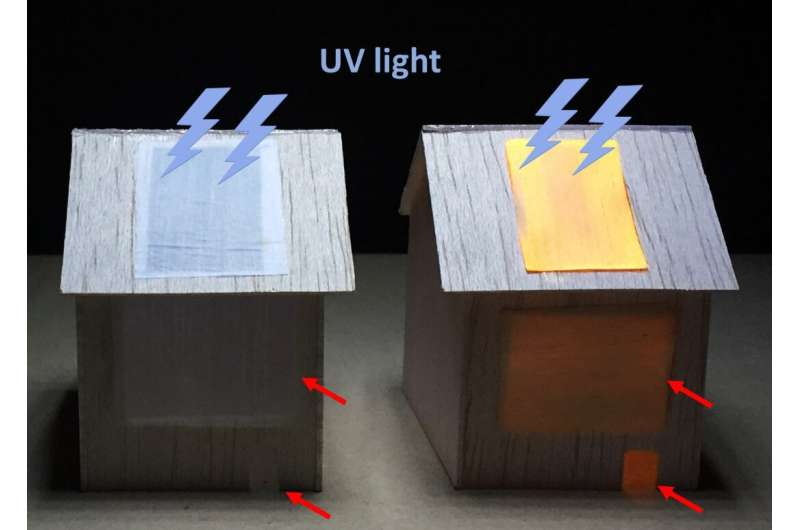 Luminescent wood could light up homes of the future