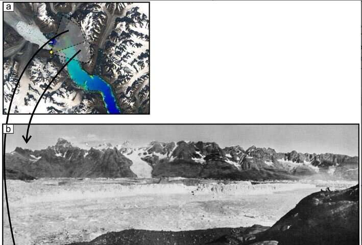 Major Greenland glacier collapse 90 years ago linked to climate change