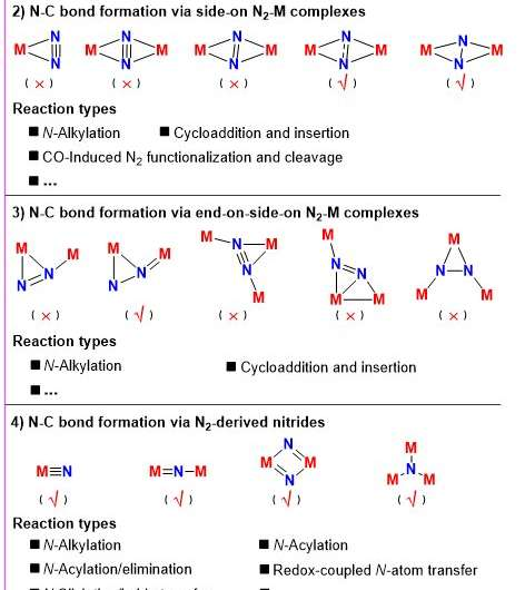 Making N-C bond directly from N2: summary and perspective