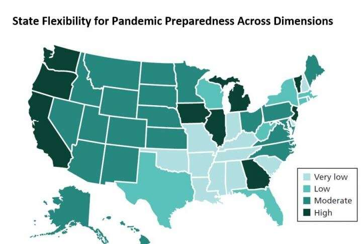 Many states lack election flexibility needed to address pandemic safety concerns