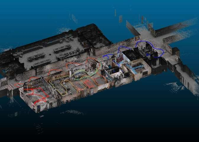 Mapping the indoors with lidar for public safety use cases