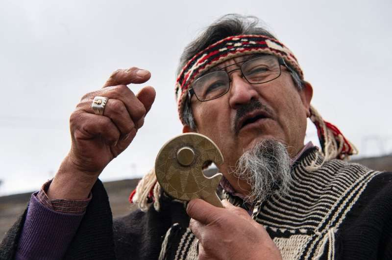 Mapuche wiseman Juan Nanculef says he will carry out a ritual to disperse the rains so the eclipse is visible