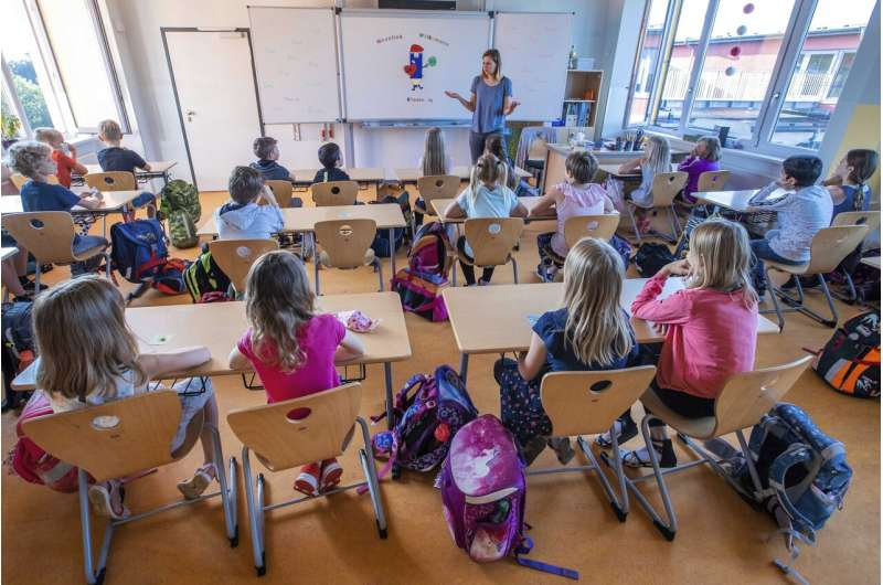 Masks in class? Many questions as Germans go back to school