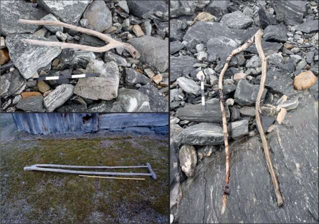 Melting ice reveals an ancient, once-thriving trade route