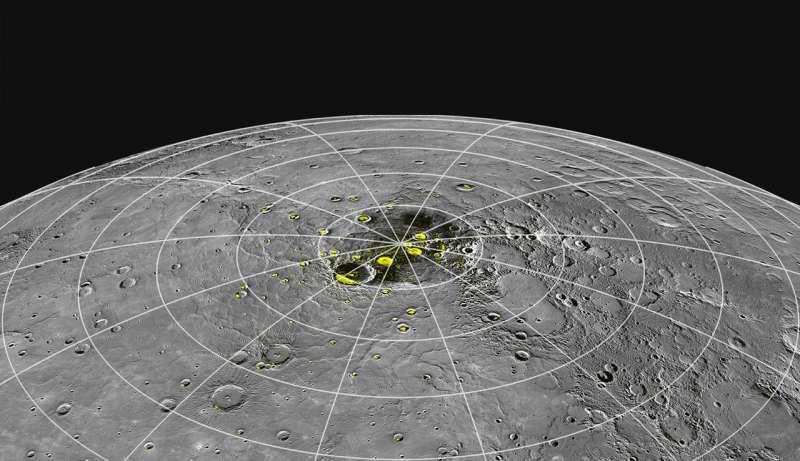 Mercury's 400 C heat may help it make its own ice