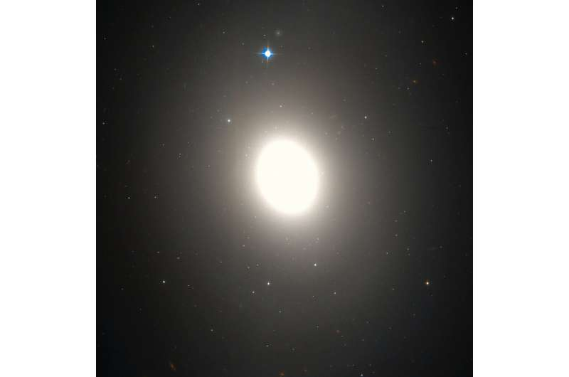 Messier 85 has a peculiar globular cluster system, study finds