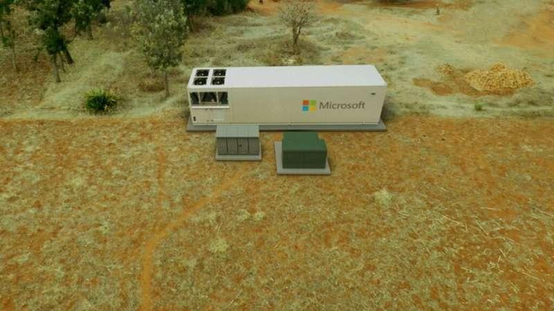 Microsoft debuts portable data center to bring cloud computing to remote environments