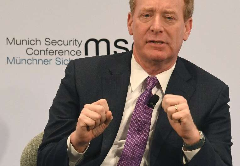 "Microsoft president Brad Smith said the massive cyberattack is more than ""espionage as usual"" and represents a major t"