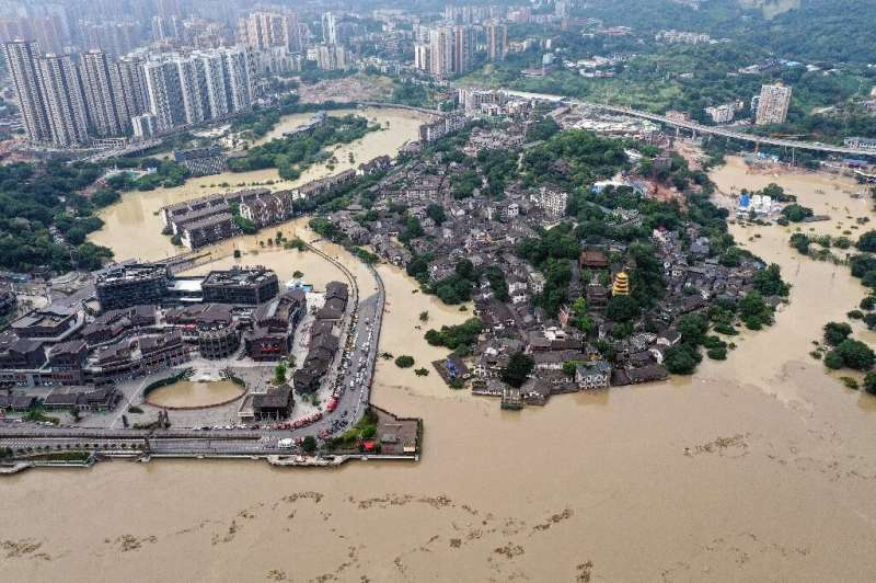 Millions of people in China have been affected once again by flooding this year