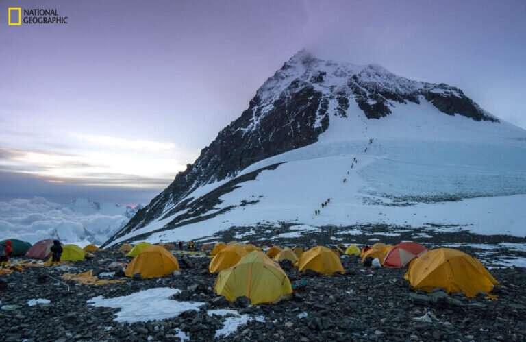 Miner finds outdoor gear 'forever chemicals' in snow near Everest summit