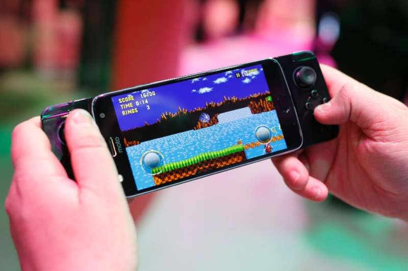 Mobile gaming has become popular with some four billion people worldwide using smartphones