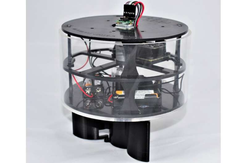 Modboat: a low-cost aquatic robot with a single motor