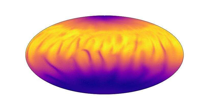 Modeling temperature variation on distant stars