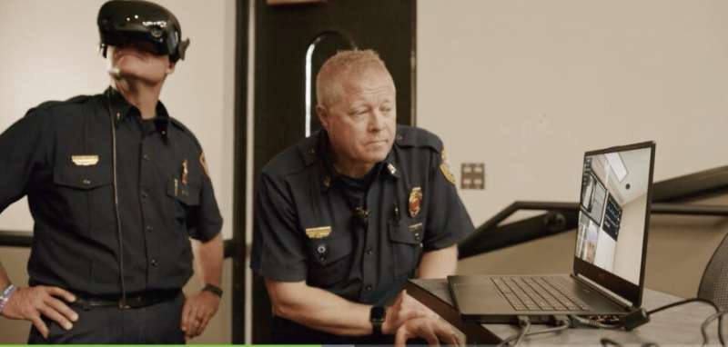 Modernizing first responder training with VR and speech recognition
