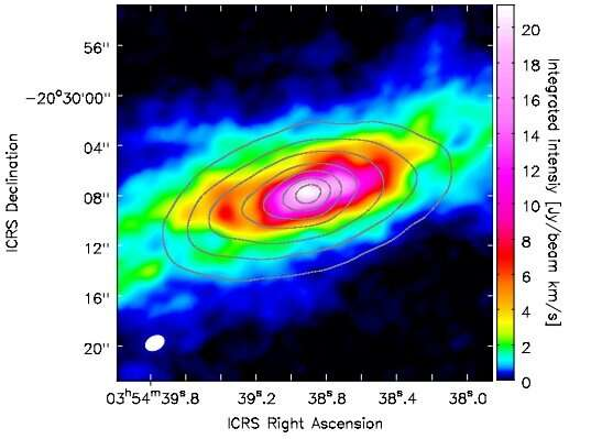 Molecular outflow identified in the galaxy NGC 1482