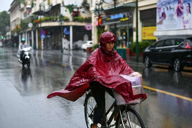 More rain was forecast for the coming days