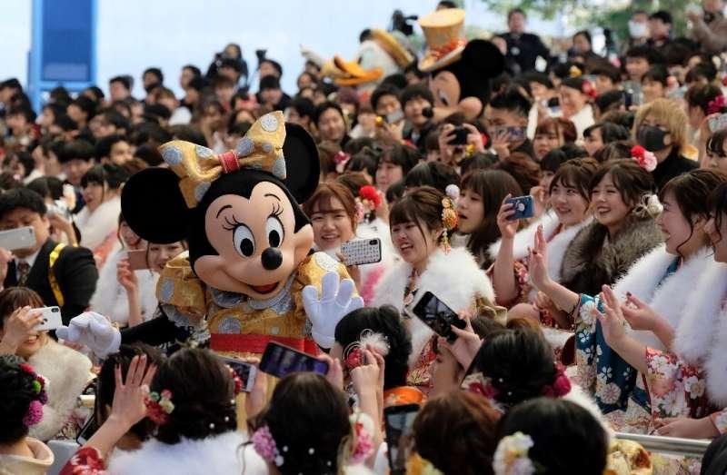 More than 30 million visitors flood into Tokyo's Disneyland and DisneySea each year