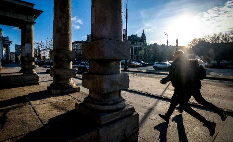 Moscow has seen an abnormally warm winter