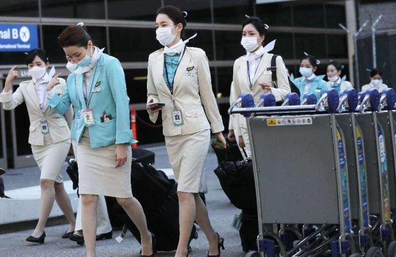Most of Korean Air's staff will go on leave from April 16 for six months