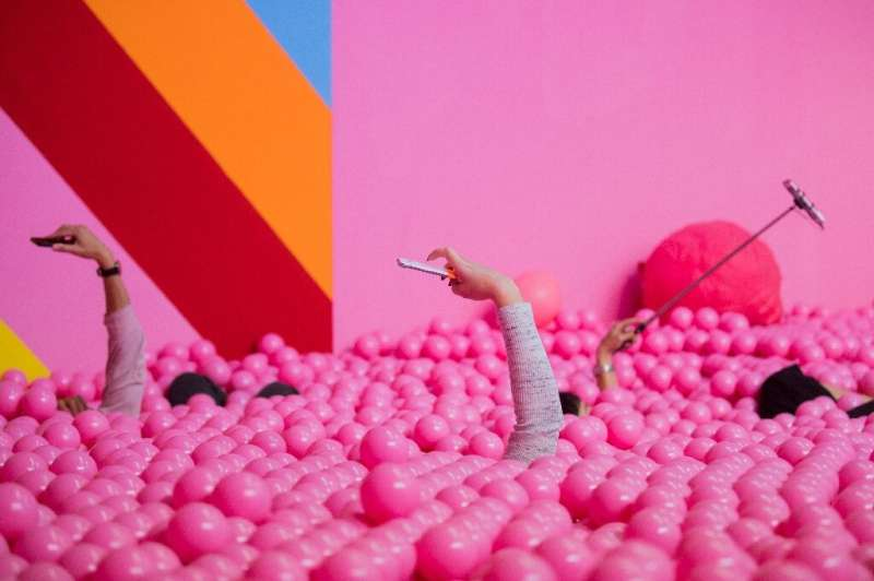 Museums and pop-up 'experiences' offer interactive installations for visitors to take selfies and post them on Instagram or othe