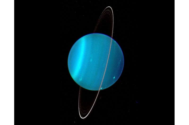 Mysteries of Uranus' oddities explained by Japanese astronomers
