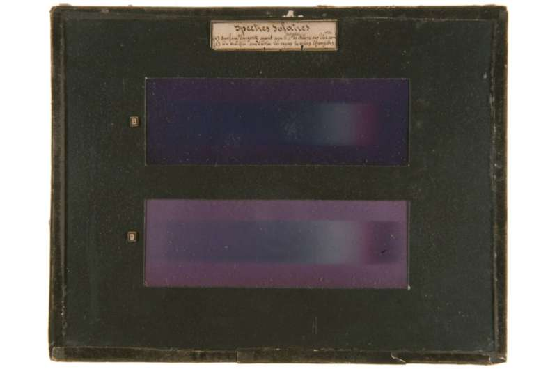 Mystery solved: The origin of the colors in the first color photographs