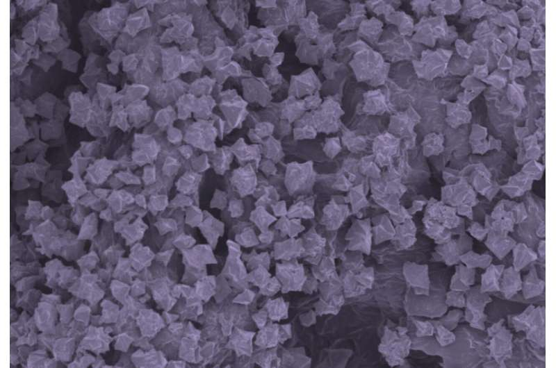 Nanomaterial fabric destroys nerve agents in battlefield-relevant conditions