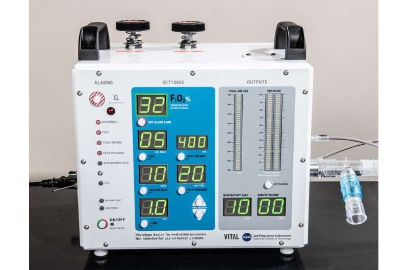 NASA-developed ventilator authorized by FDA for emergency use