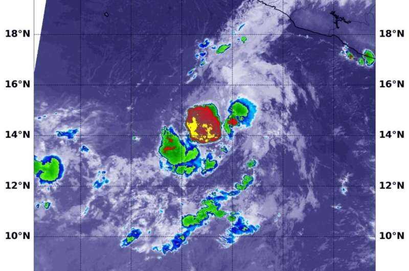NASA finds dry air sapping Tropical Storm Norbert's strength