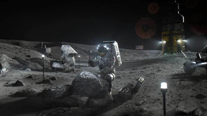 NASA goes private for 1st astronaut lunar landers in decades