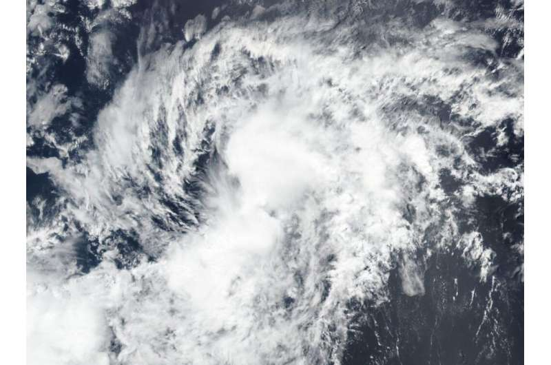 NASA-NOAA's Suomi NPP satellite sees Tropical Storm Boris form