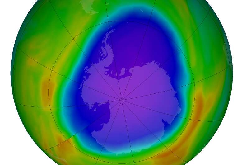 NASA reports Arctic stratospheric ozone depletion hit record low in March