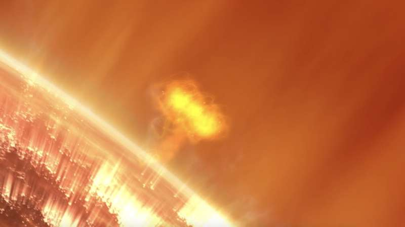 NASA selects mission to study causes of giant solar particle storms