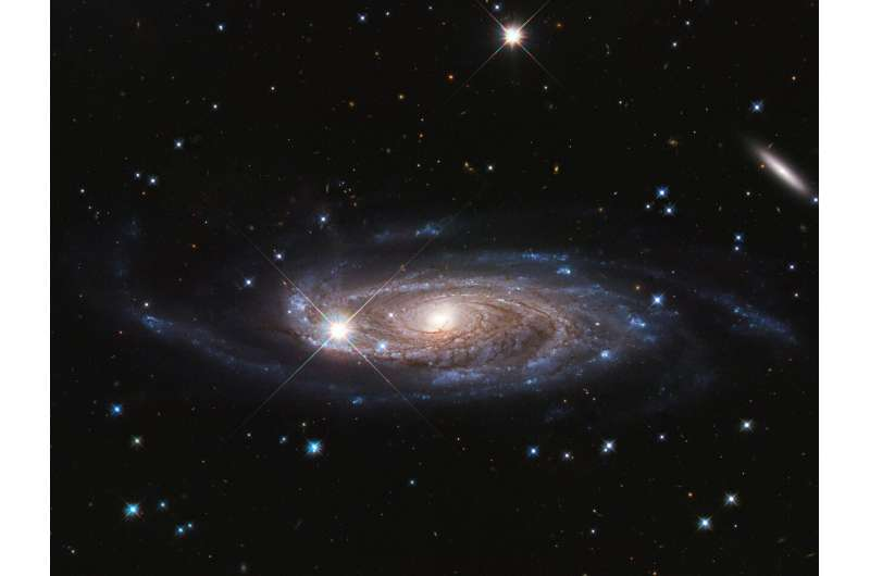 NASA's Hubble surveys gigantic galaxy