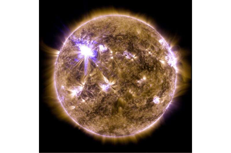 NASA sun data helps new model predict big solar flares
