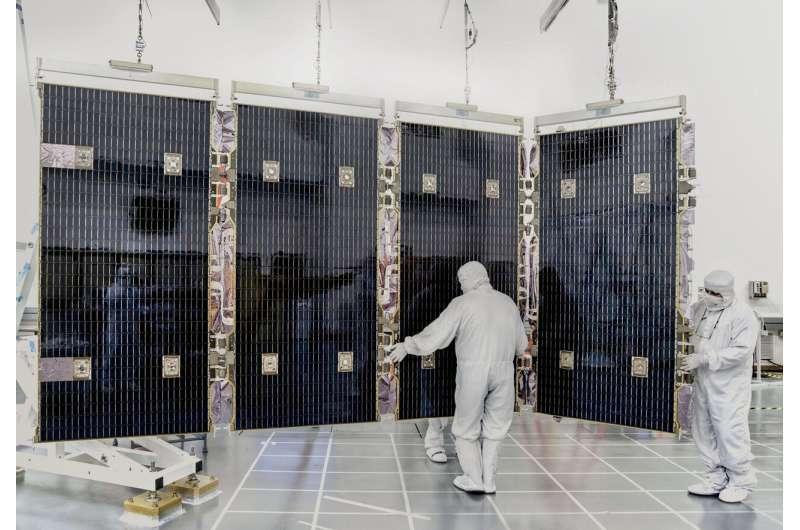 NASA's Webb solar array reconnects to the telescope