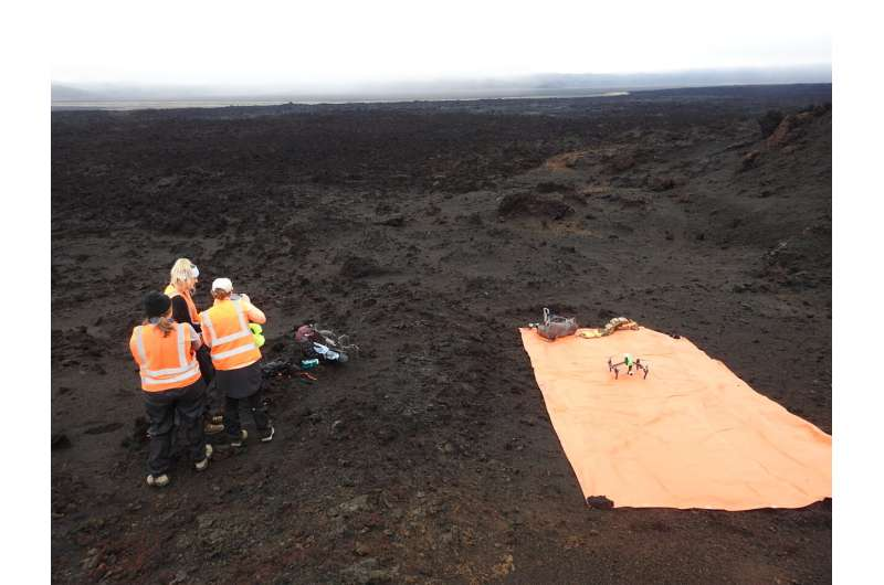Nearly barren Icelandic landscapes guide search for extraterrestrial life