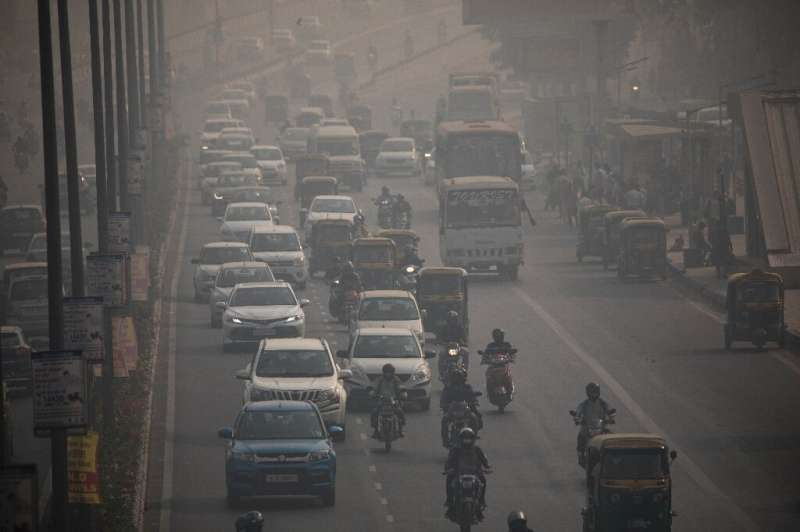 New Delhi faces a double whammy of deadly smog and the coronavirus