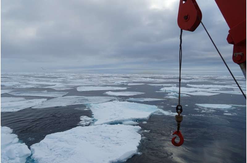 Newer PFAS compound detected for first time in Arctic seawater