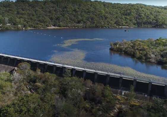 New fishway technology to get fish up and over those dam walls