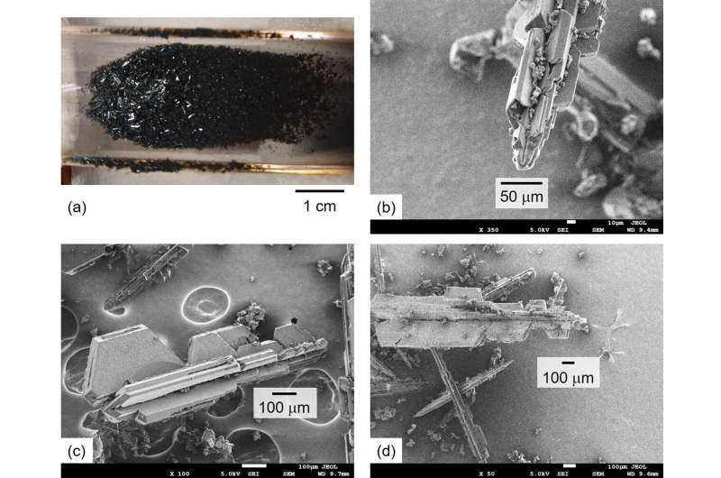 New fullerene crystal production method 50 times faster than predecessor