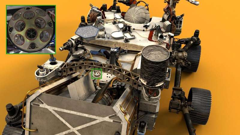 New Mars rover is ready for space lasers