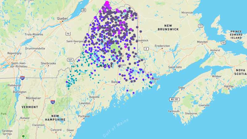 New online app helps visualize, interpret spatial data on spruce budworm mitigation, forest planning
